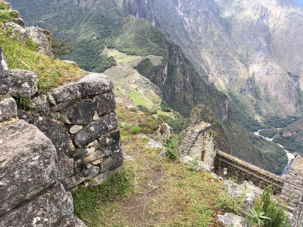 Aren Bergstrom - Ruins on the Top of Huayna Picchu, Peru