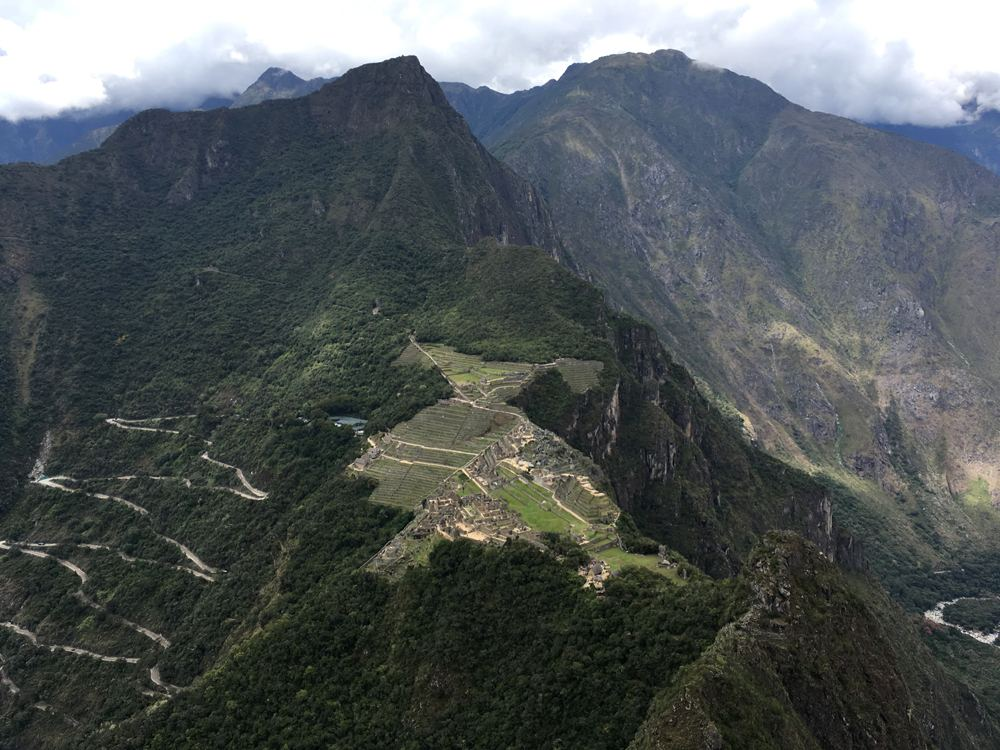 Aren Bergstrom - View from the Top of Huayna Picchu, Peru