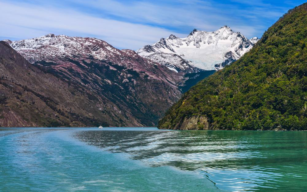 Cruising in Glacier Alley in Patagonia, Argentina