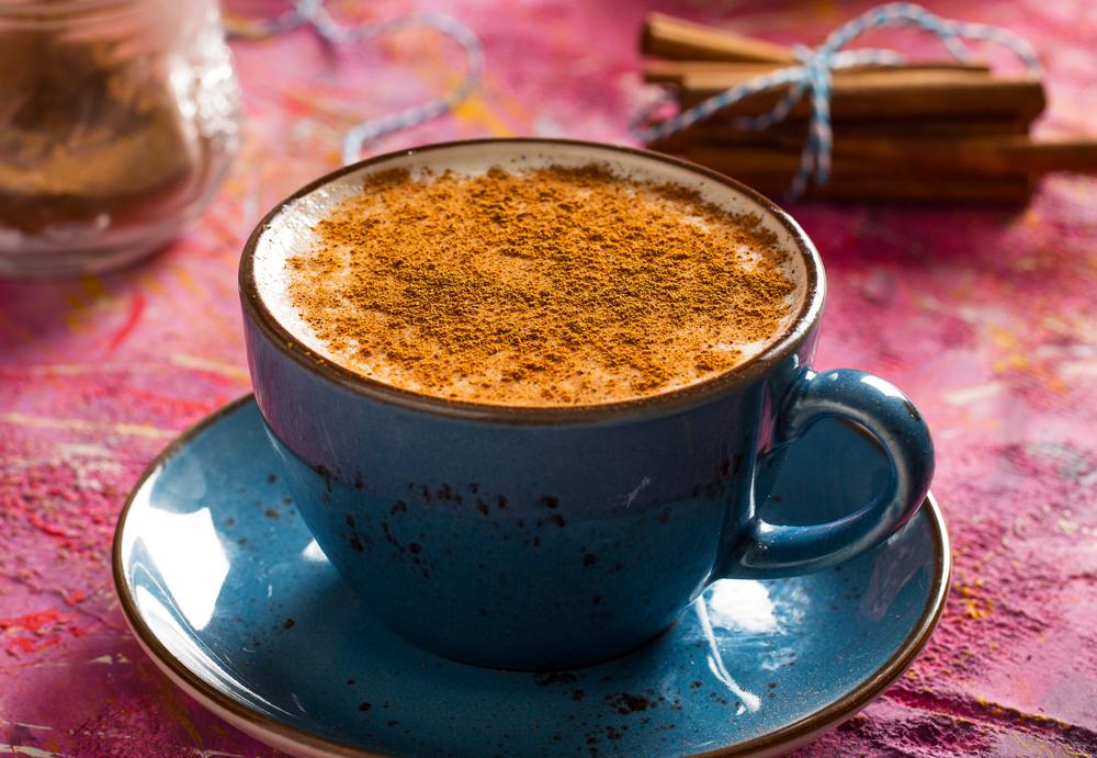 Cup of Turkish Salep, Turkey cropped