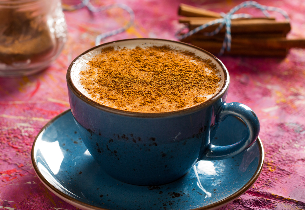 Cup of Turkish Salep, Turkey cropped