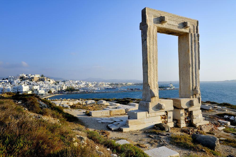 Portara of Naxos, Greece