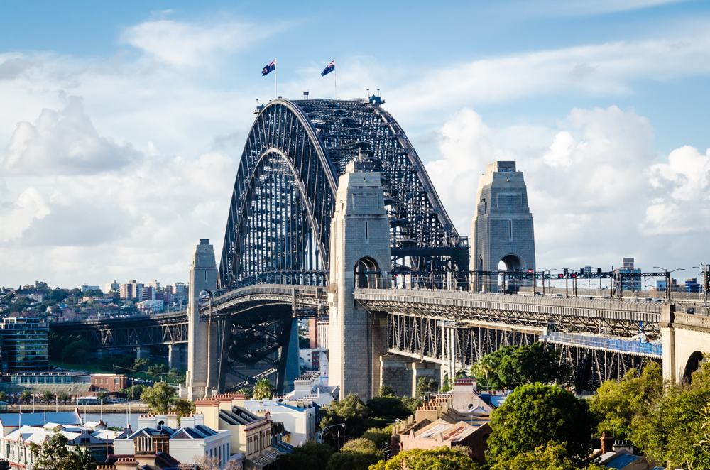 Sydney Harbour Bridge from the Observatory, Sydney, Australia