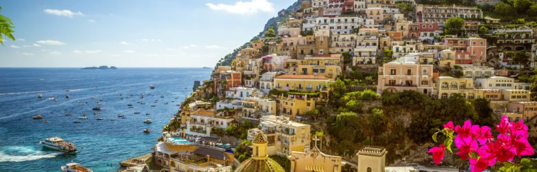 Panorama of Positano, Amalfi Coast, Italy
