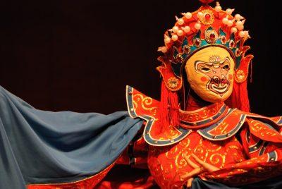 Sichuan opera performer, China