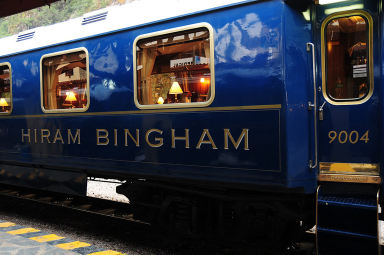 The Belmond Hiram Bingham luxury train, Peru