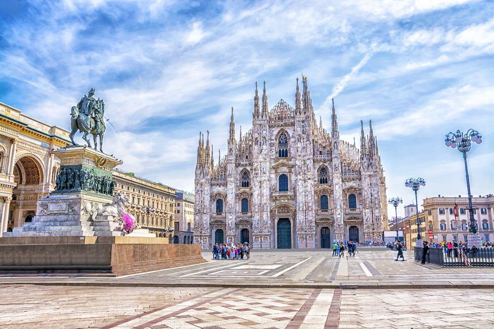 Duomo di Milano in Piazza Duomo, Milan, Italy