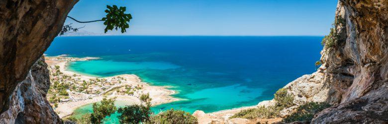 Island of Crete and Mediterranean Sea, Greece