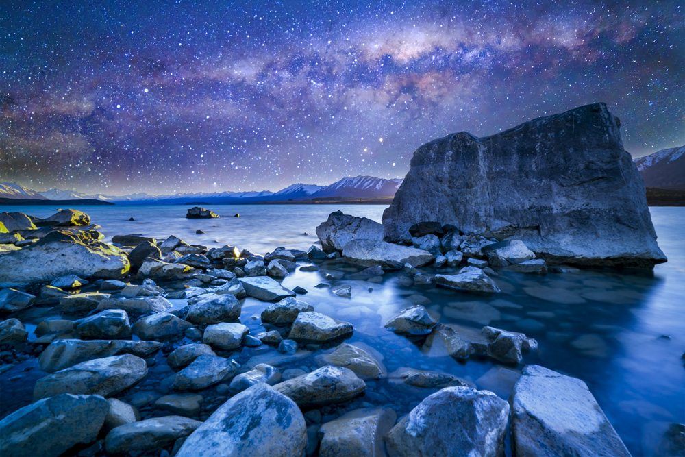 Lake Tekapo under the milkyway, New Zealand