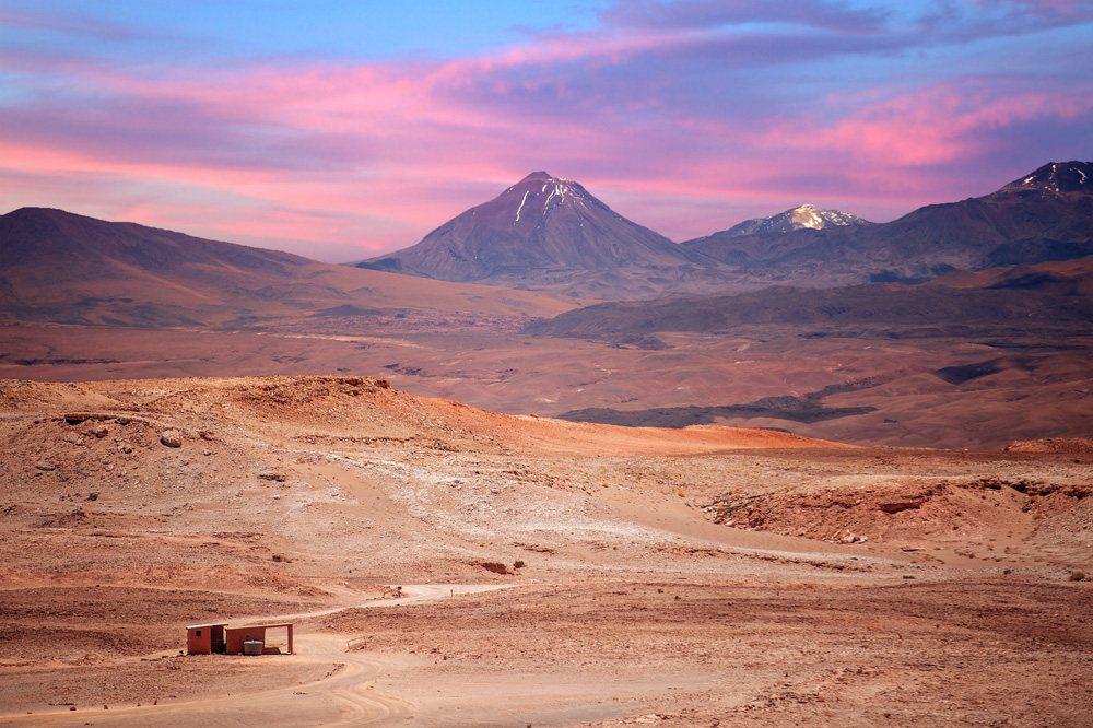 Licancabur volcano near San Pedro de Atacama, Chile