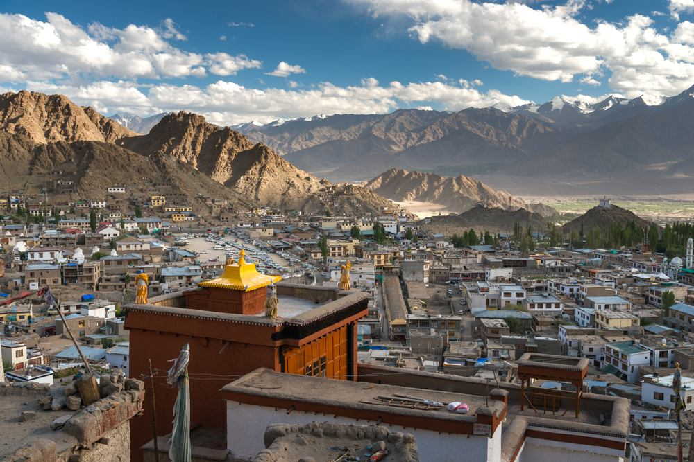 Old Town in Leh, Ladakh, India