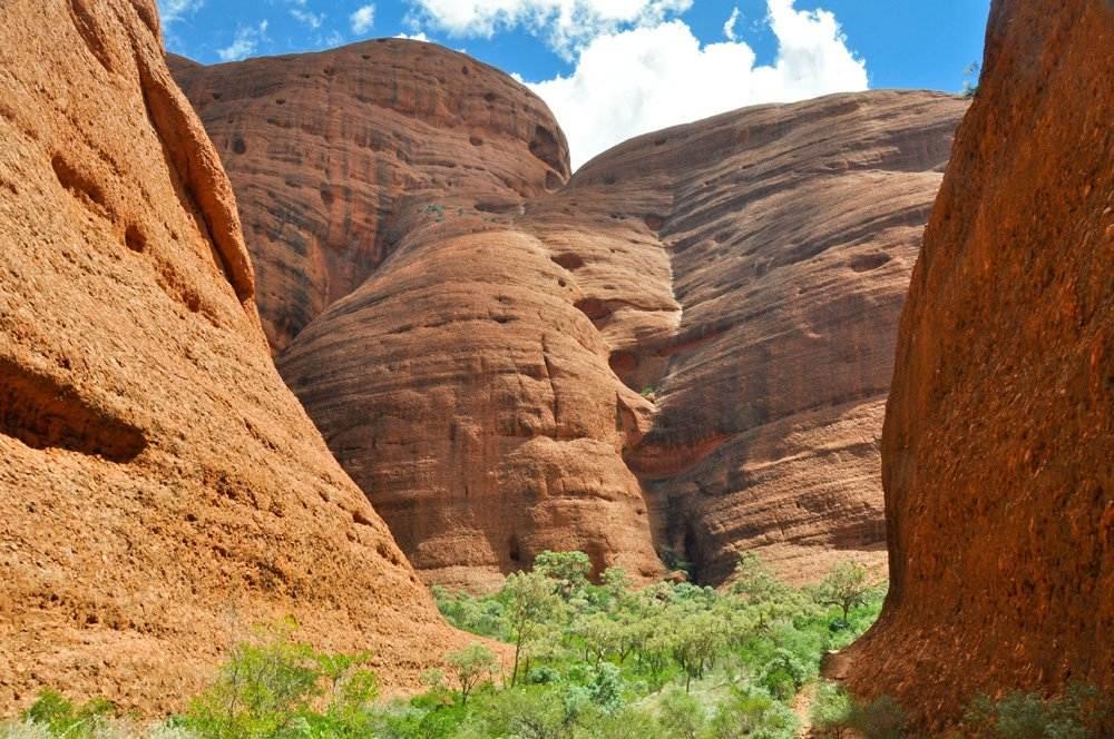 Olgas in Uluru-Kata Tjuta National Park, Northern Territory, Australia