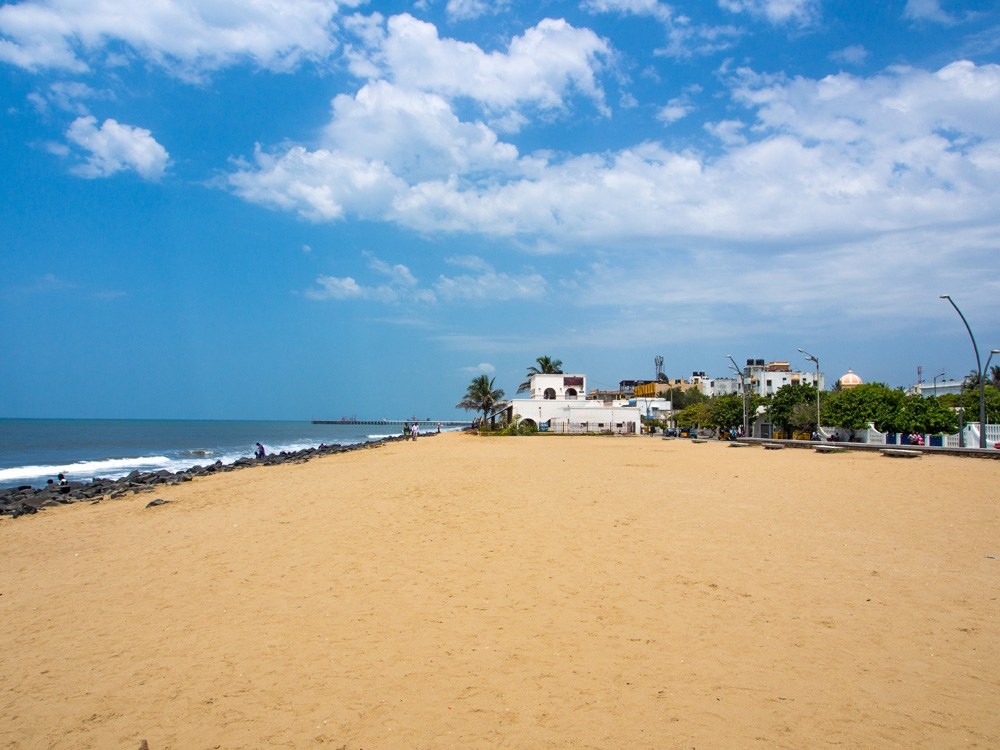 Pondicherry Beach, Pondicherry, India