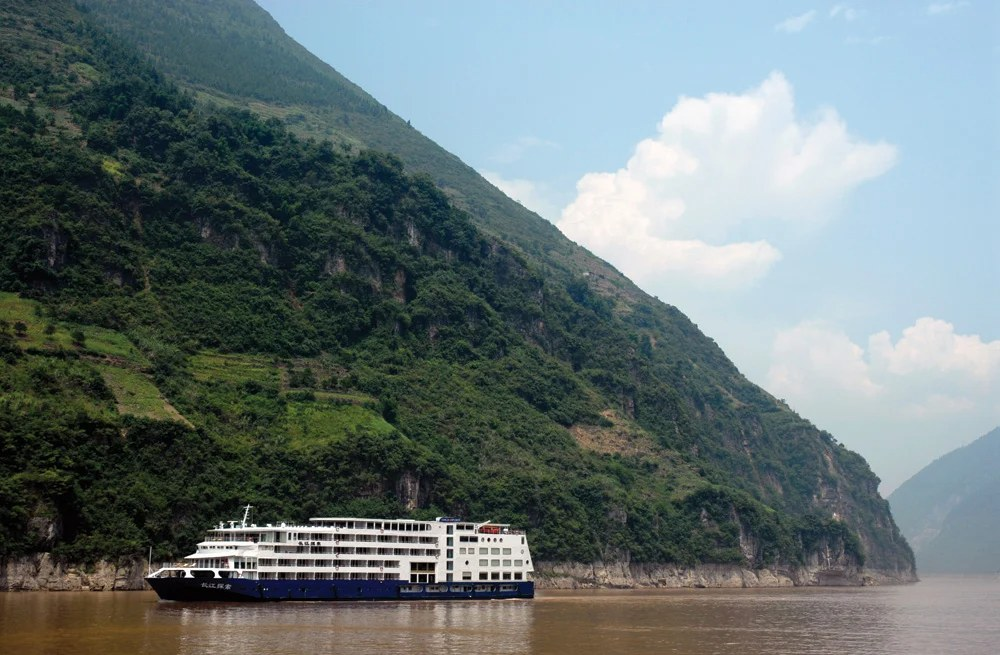 The Sanctuary Yangzi Explorer, Yangtze River, China