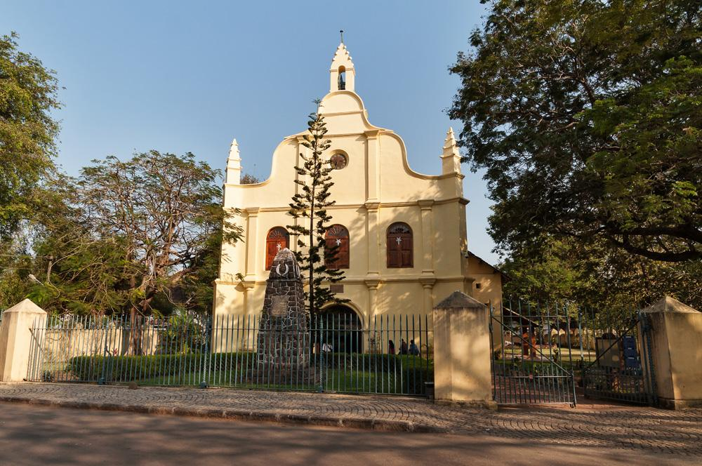 St Francis Church, the oldest European church in India. Cochin, Kerala, India
