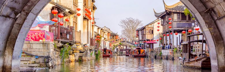 Ancient city of Suzhou, China