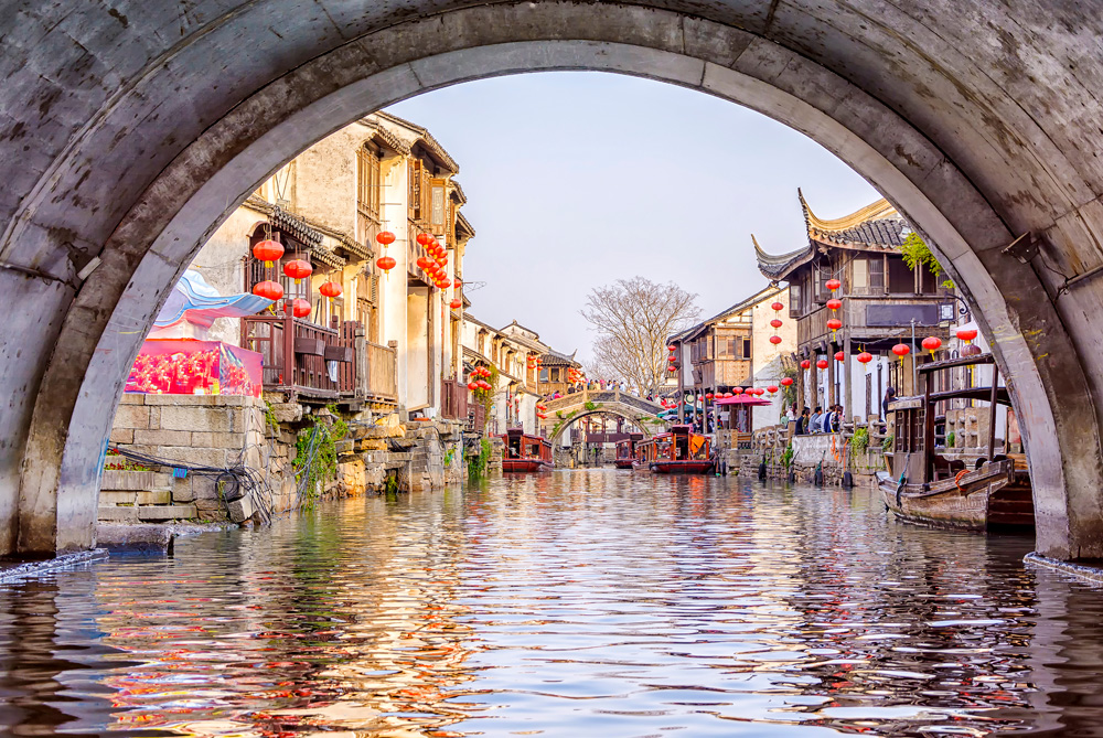 Ancient city of Suzhou, China