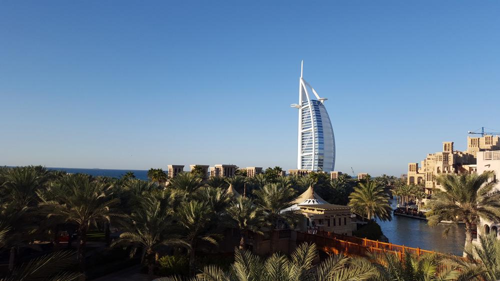 Burj Al Arab in Dubai, UAE (United Arab Emirates)