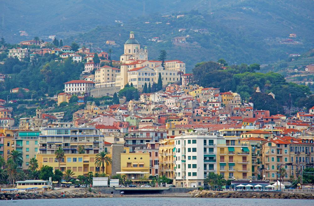 City of San Remo, Italy