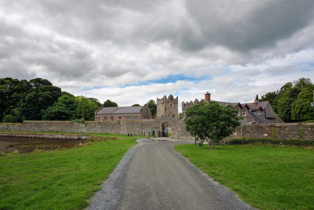 Entrance to the Castle Ward in Northern Ireland