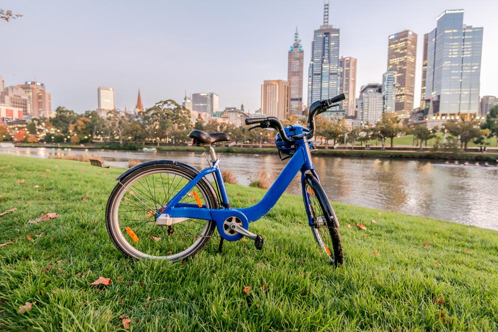 Explore Melbourne by bike, Victoria, Australia