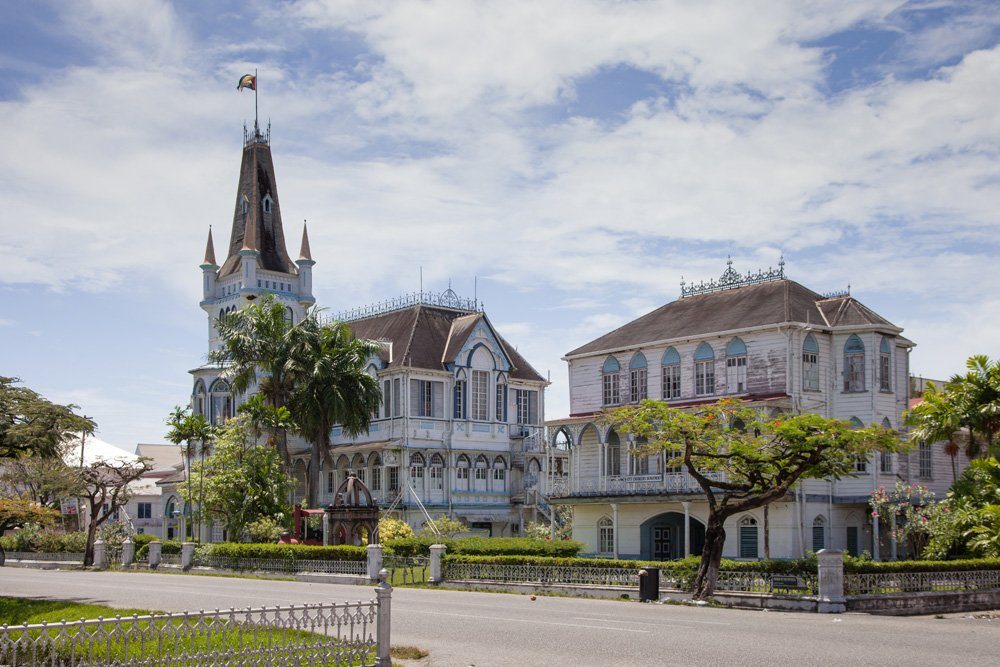 Georgetown City Hall in Georgetown, Guyana
