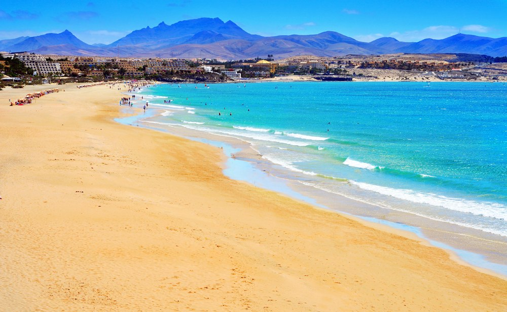 Playa Esmeralda in Fuerteventura, Canary Islands, Spain