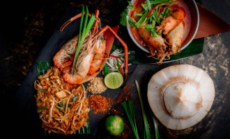 Tom Yum Kung, Phad Thai and coconut, Thailand