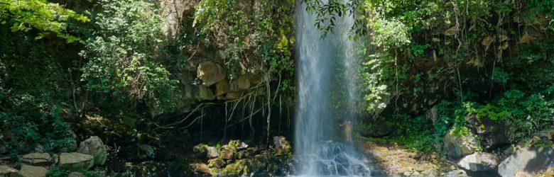 Waterfall in Rincón de la Vieja National Park, Guanacaste, Costa Rica