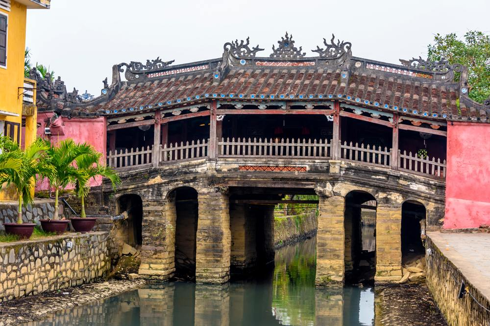 Chua Cau Japanese bridge, Hoi An, Vietnam