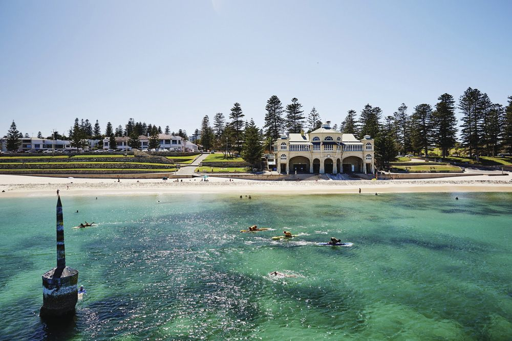 View of Cottesloe Beach, Perth, Australia - Tourism Western Australia