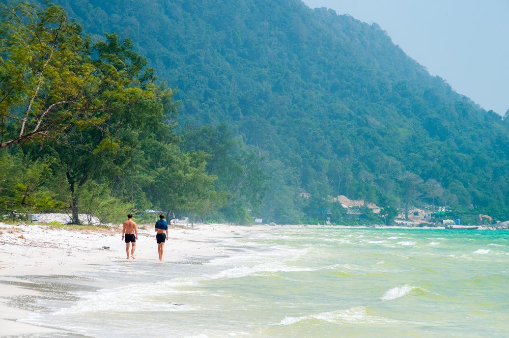 Long Beach on Koh Rong Island, Sihanoukville, Cambodia