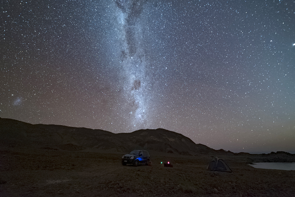 Milky Way in the Atacama Desert, Chile
