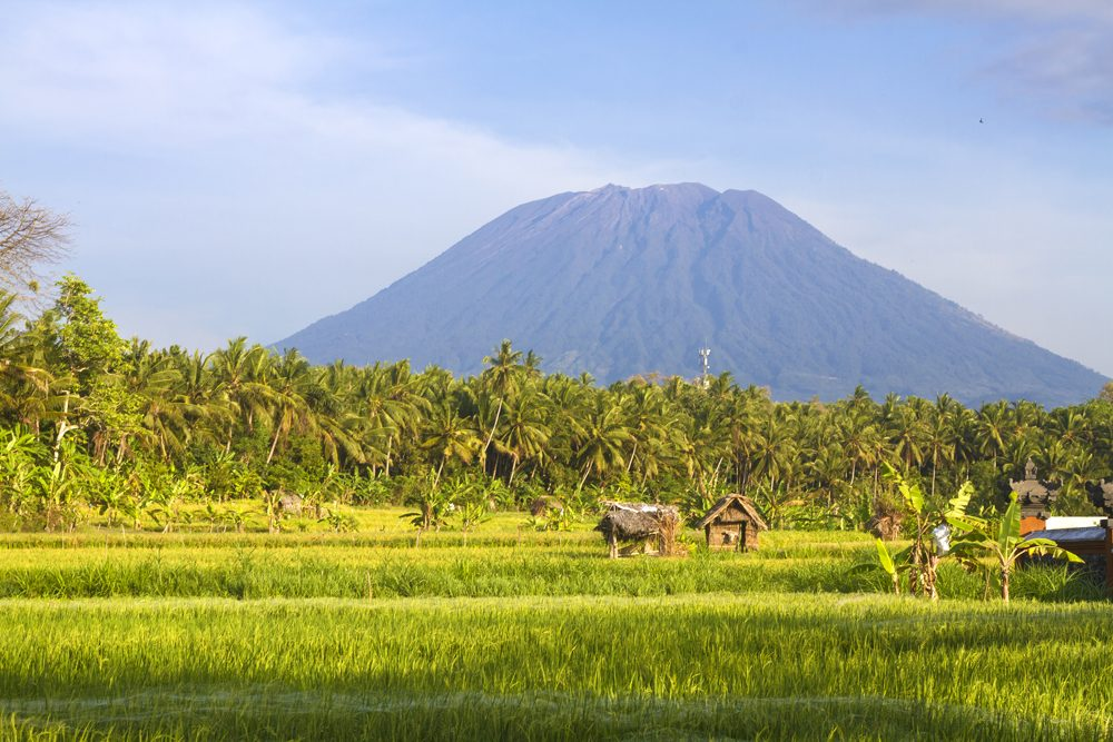 Mt Agung, Amed, Bali, Indonesia