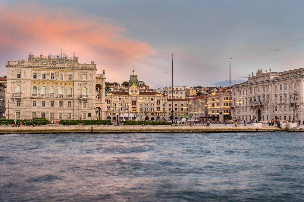 Piazza Dell'unita d'Italia in Trieste, Italy