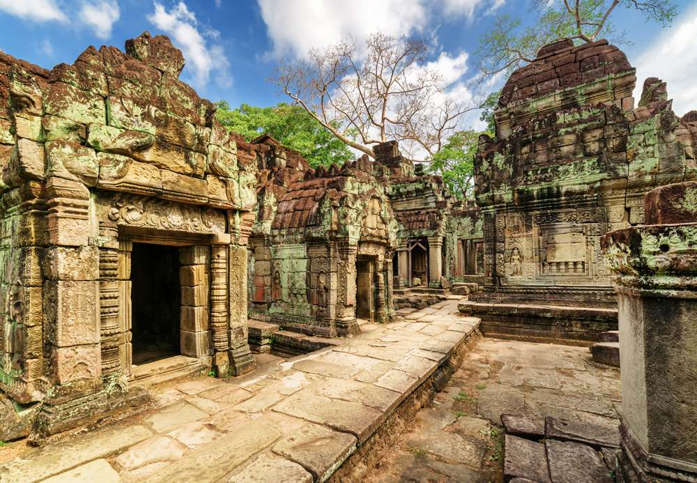 Preah Khan in Angkor Wat temple complex, Siem Reap, Cambodia