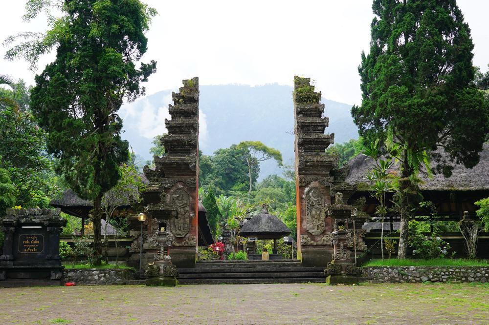 Pura Luhur Batukaru Hindu temple in Tabanan, Bali, Indonesia