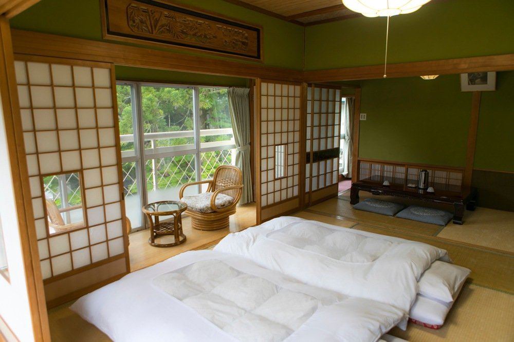 Ryokan, traditional Japanese accommodation, Japan