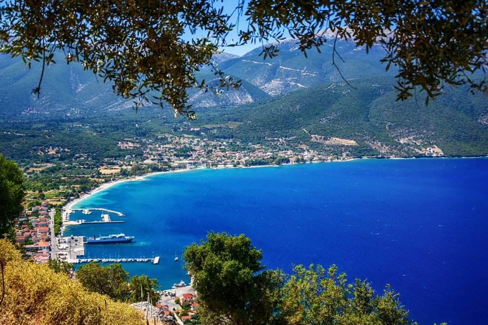 Sami port, Kefalonia island, Ionian Islands, Greece