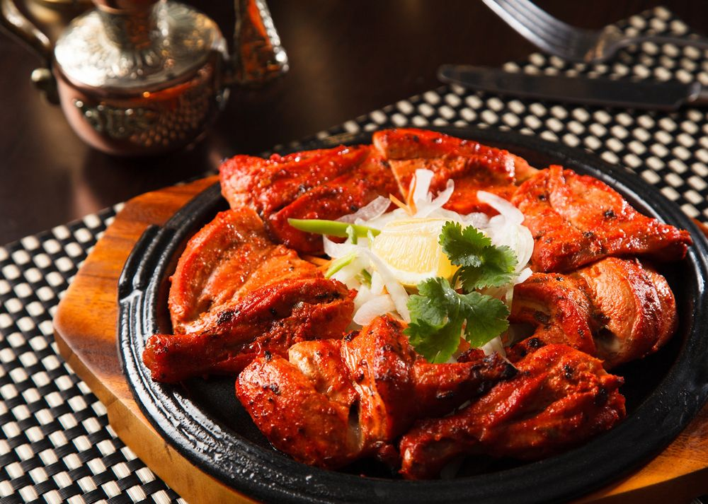 Tandoori chicken, India