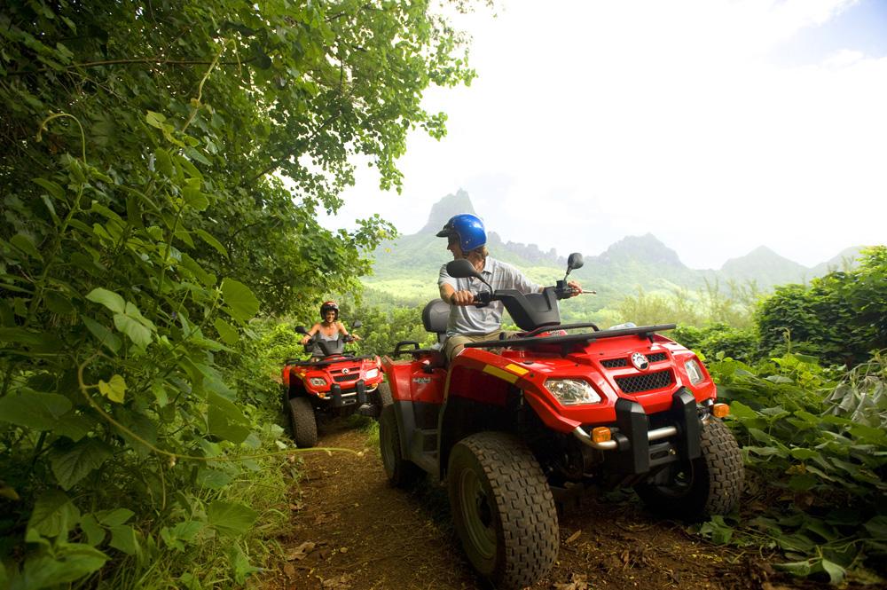ATV Tour in Moorea, Islands of Tahiti (French Polynesia)
