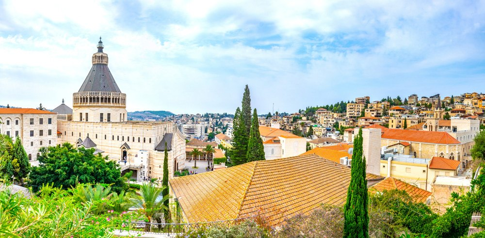 Church of the Annunciation in Nazareth, Israel
