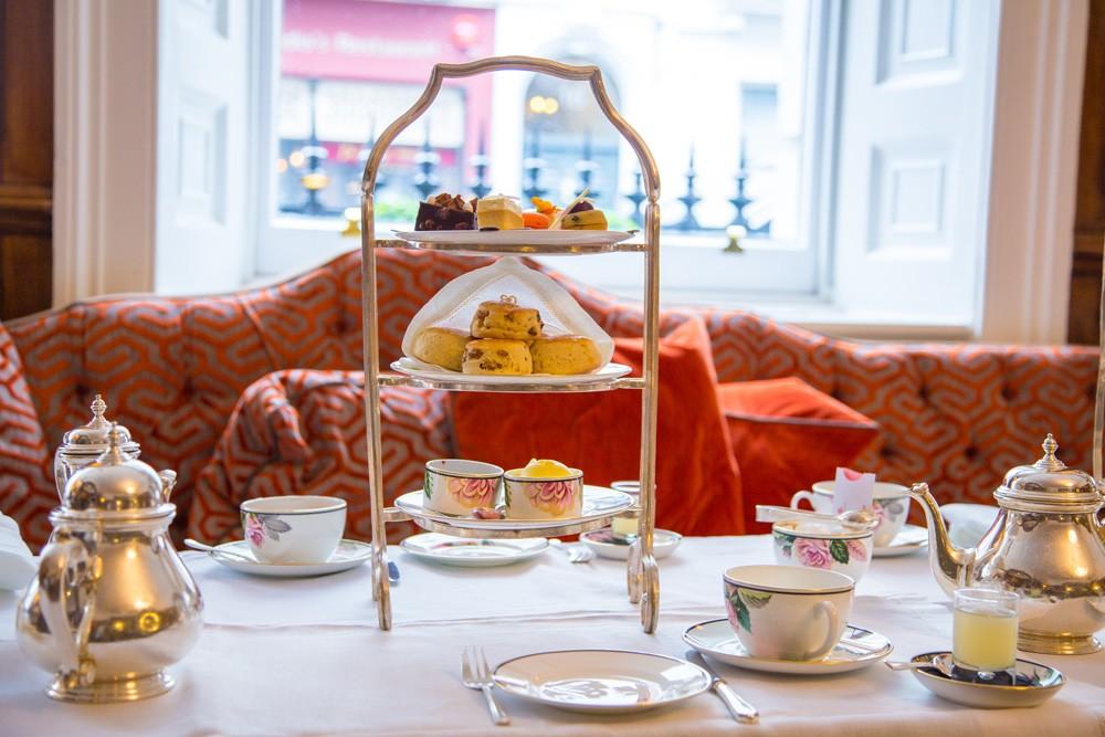 English afternoon tea, London, England, UK (United Kingdom)