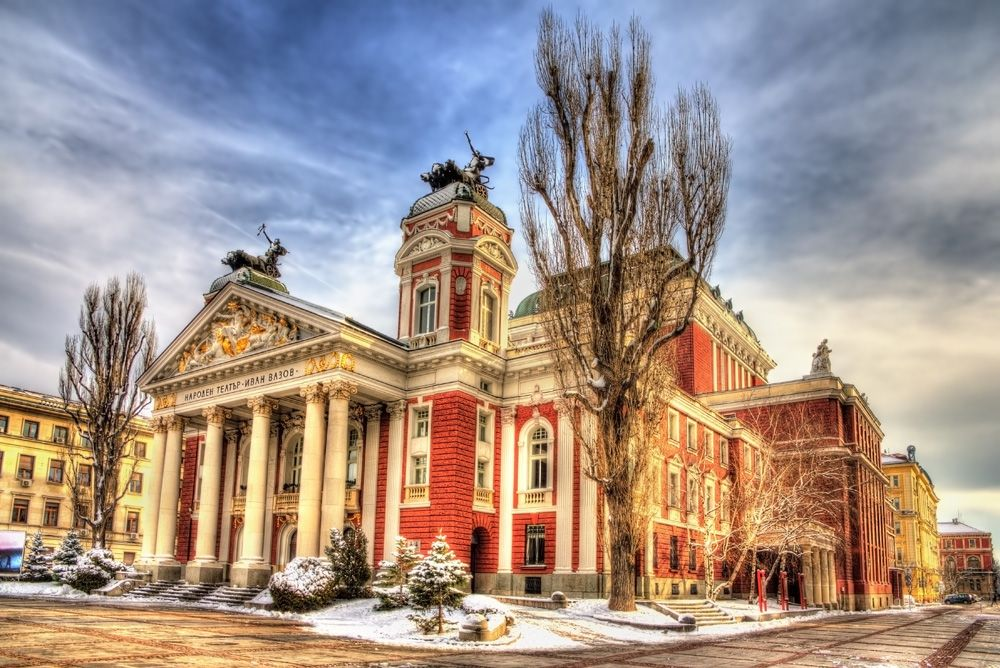 Ivan Vazov National Theatre in Sofia, Bulgaria