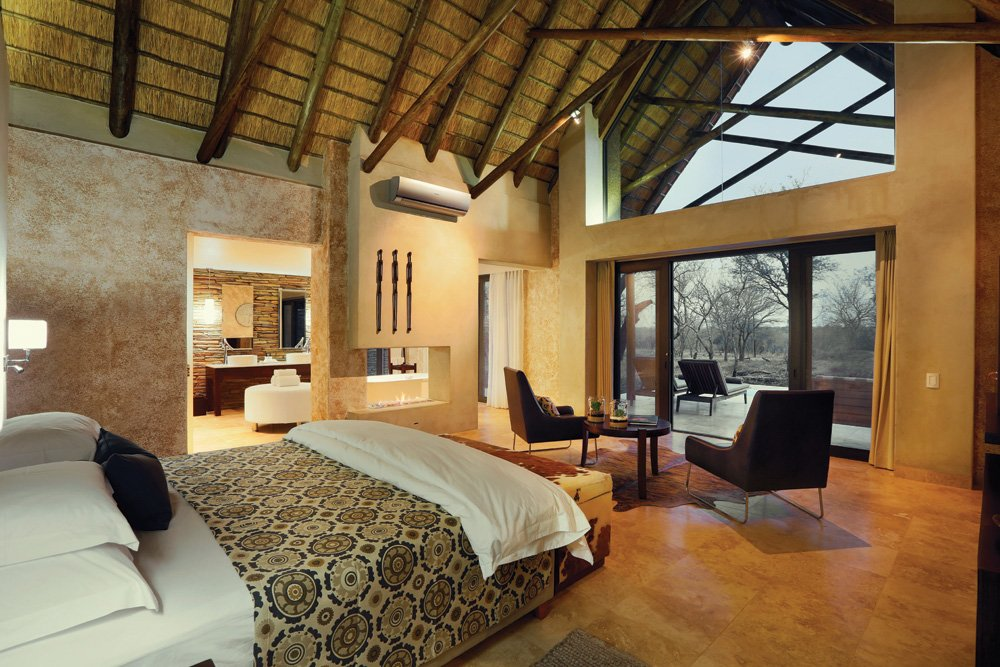 Kapama Game Reserve suite, Kruger National Park, South Africa