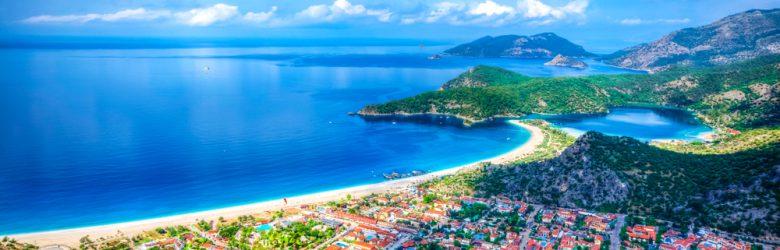 Oludeniz Bay view in Fethiye, Turkey