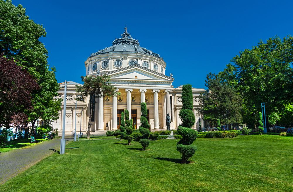 Romanian Atheneum, Bucharest, Romania