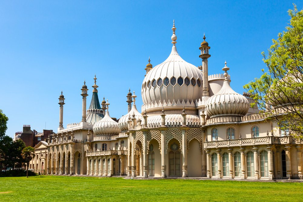 Royal Pavilion in Brighton, England, UK