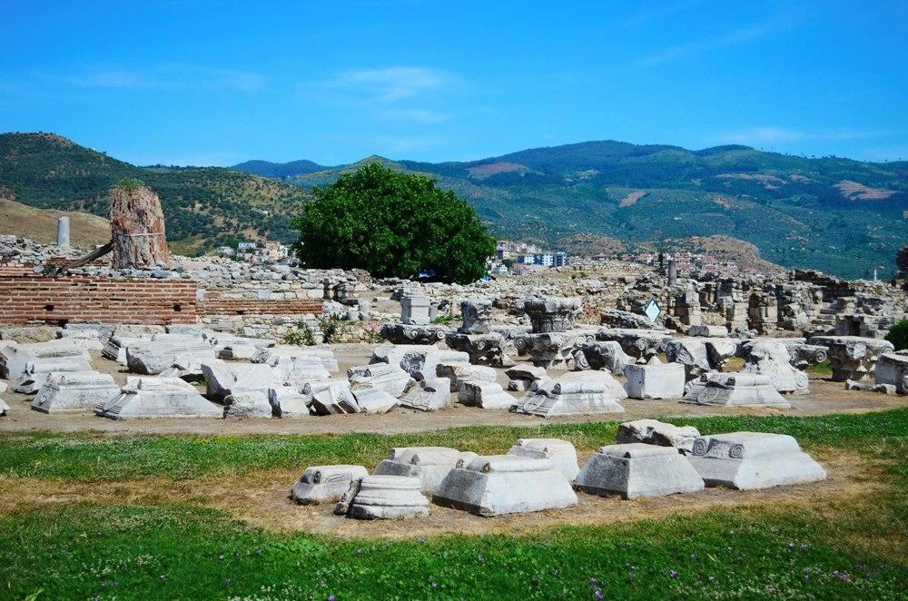 Ruins of ancient St John Basilica, Selcuk, Turkey