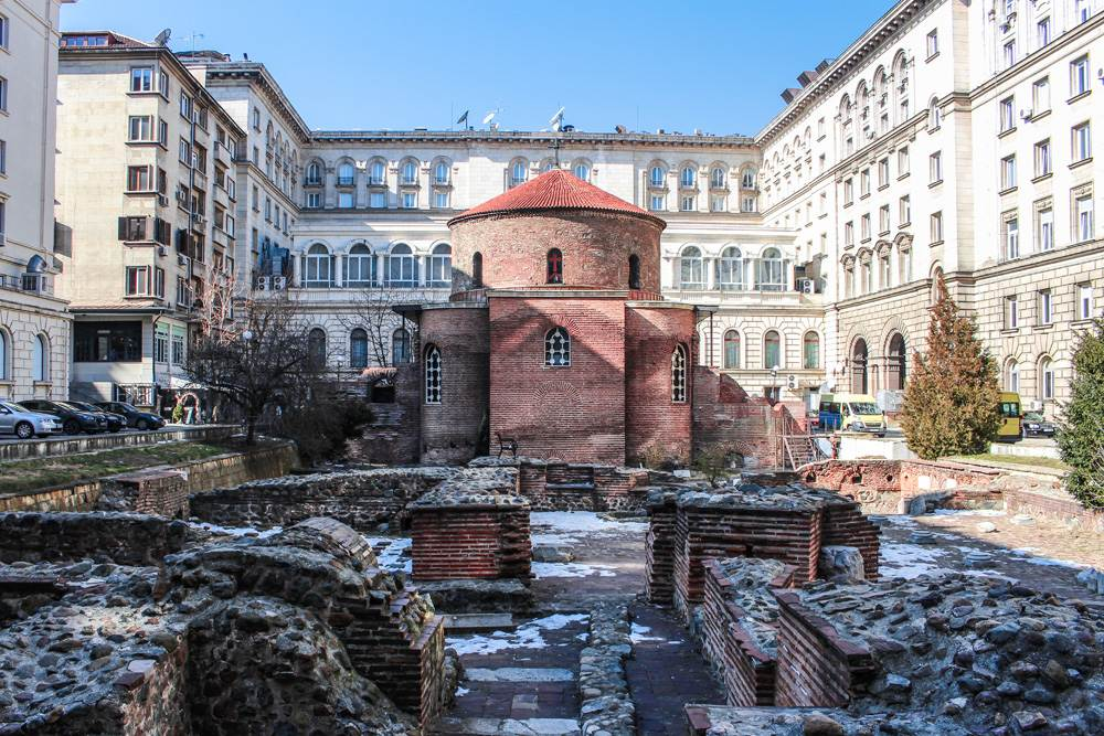 St George Rotunda in Sofia, Bulgaria